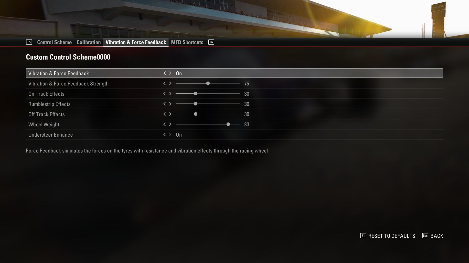 logitech g29 wheel - Questions & Answers - Codemasters F1 Car Setups